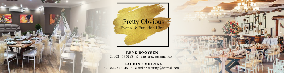 Pretty Obvious Boutique events & function hire