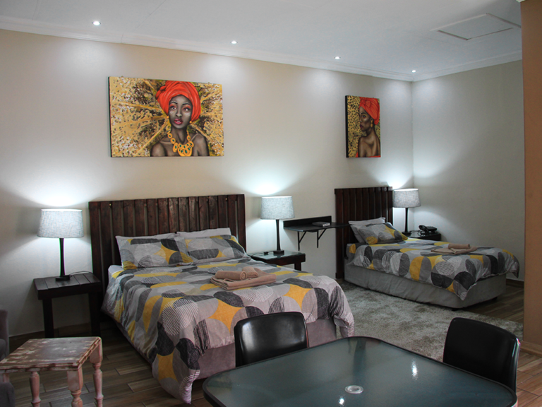 South Gate Lodge family accommodation in Polokwane